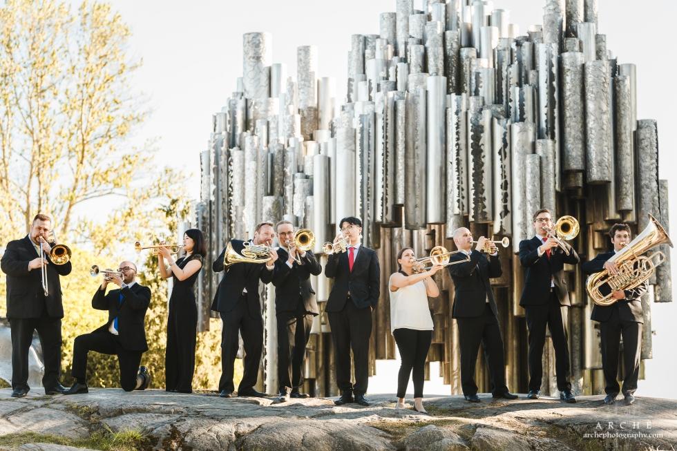 Helten Brass Ensemble promokuvat
