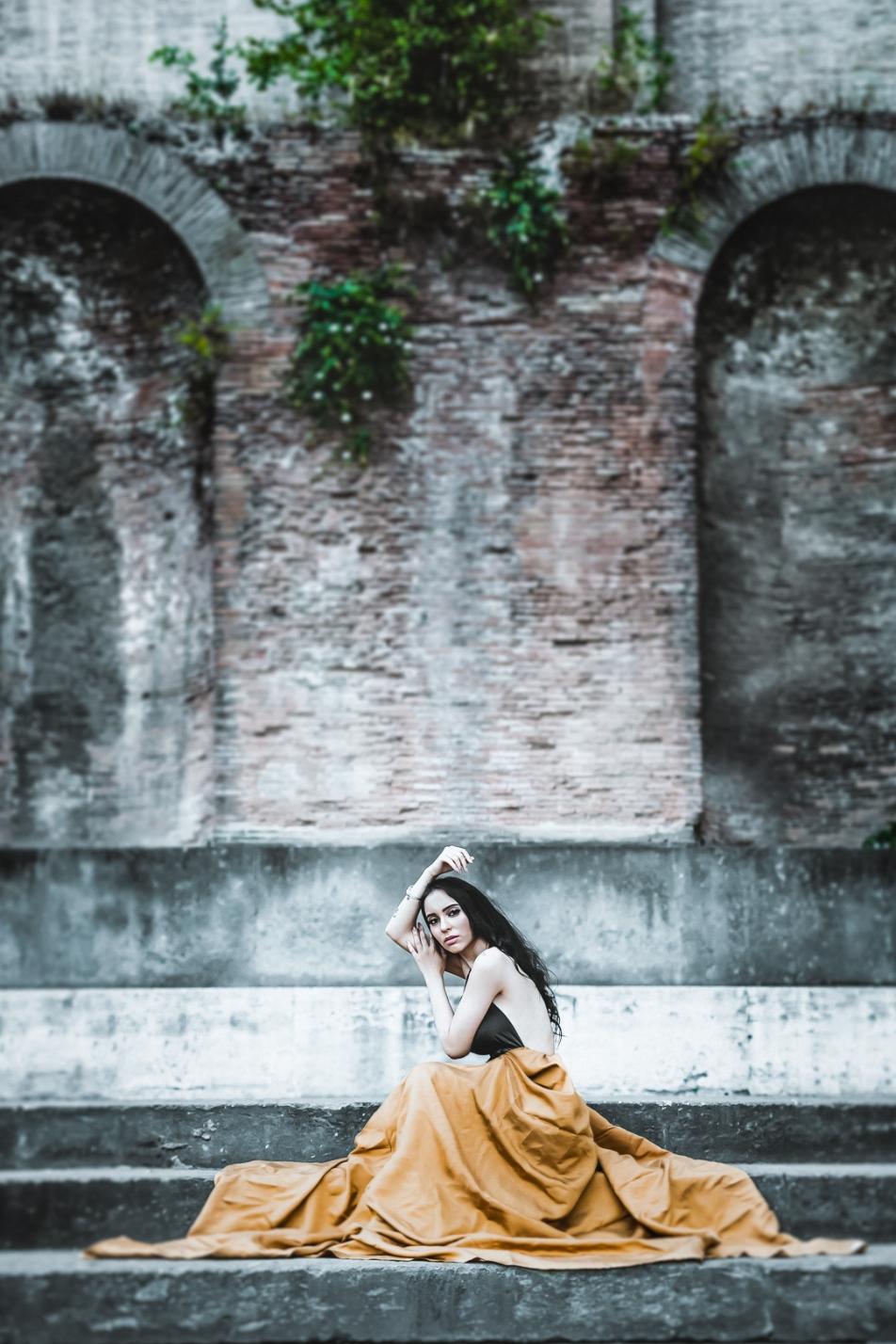 Model: Alessia in Rome